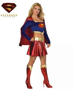 Man of Steel Superman Halloween Costumes.The best Man of Steel Superman Halloween costumes are for sale below. Man of Steel Superman Halloween Costumes. Supergirl Halloween Costume, Superhero Costumes Female, Sexy Adult Costumes, Halloween Costumes For Girls, Girl Costumes, Costumes For Women, Adult Halloween, Halloween Cosplay, Costume Ideas