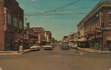 ZP758 Vintage Paragould Arkansas AR  Street Scene Woolworths Sears Corner Cafe