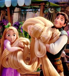 Tangled - Favorite Couple - Their relationship in the movie was wonderful