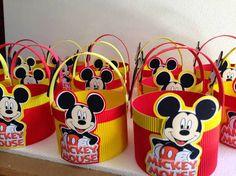 Resultado de imagen para dulceros de mickey mouse