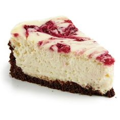Cranberry Swirl Cheesecake | CookingLight.com