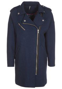NAF NAF HERITAGE Classic coat blue