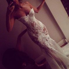 Sexy Long Sweetheart Mermaid Wedding Dress Bridal Gown with Appliques