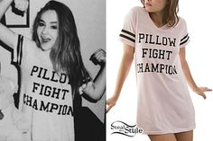 Sabrina Carpenter: 'Pillow Fight Champion' Tee