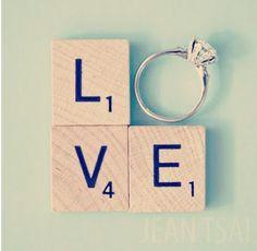 Love - Bague de fiançailles