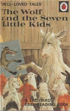 Ladybird Book The Wolf & The Seven Little Kids Well Loved Tales Book Collectable Collectible Childrens Book Circa 1974 Spot Books, I Love Books, My Books, Easy Reading Books, Wolf, Tales Series, Ladybird Books, My Childhood Memories, Childhood Toys
