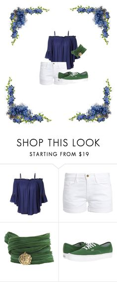 """What To Wear Today"" by catthepunisher ❤ liked on Polyvore featuring LE3NO, Frame, Catherine Michiels and Vans"