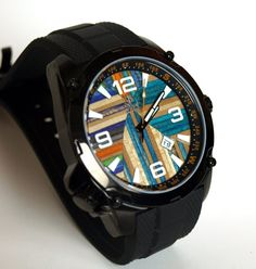 LIMITED EDITION  #Recycled #Skateboard #Watch   by #SecondShot