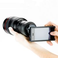 Fisheye, Macro, Wide Angle and Telephoto Lenses for the #iPhone