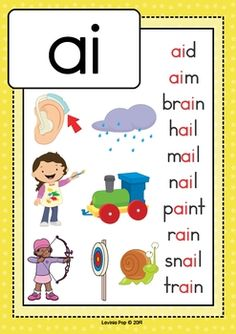 by Lavinia Pop Phonics Chart, Phonics Flashcards, Alphabet Phonics, Phonics Worksheets, Phonics Reading, Teaching Phonics, Kindergarten Reading, Reading Comprehension, Spelling Activities