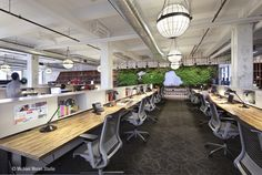 The open plan project office