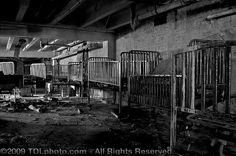 Abandoned Children's Center (Asylum) / Hospital that opened its doors in 1925...........so sad!