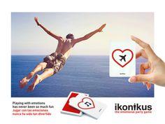 Ikonikus: Flying Feeling / Volar... Jugar con las emociones nunca ha sido tan divertido Playing with emotions has never been so much fun BrainPicnic.com Ikonikus.com