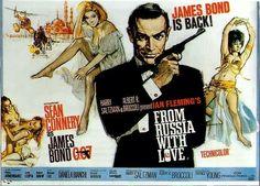 From Russia with Love (1963)  Efsanevi karakterJames Bondefsanevi aktörü Sean Connery İstanbul'da