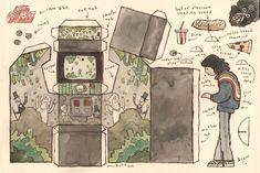 Scott C - Cut out Arcade Machines6