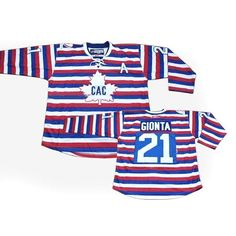 Buy 100% official Reebok Brian Gionta Men s Authentic CAC Stripe Jersey NHL  Montreal Canadiens  21 Free Shipping. 4bbb234a4