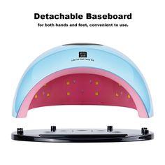 80W UV LED Lamp Nail Dryer Sales Online blue eu - Tomtop Smartwatch, Apple Technology, Nail Dryer, Uv Nails, Baseboards, Uv Led, Led Lamp, Self, Smart Watch