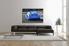 30x20 Inch Canvas Audi RS6 Avant Framed Picture Print Art