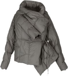 Malloni Down Jacket in Gray