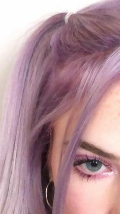 Pastel Purple Hair, Light Purple Hair, Lilac Hair, Hair Color Blue, Cool Hair Color, Dying My Hair, Aesthetic Hair, Lavender Hair, Dream Hair