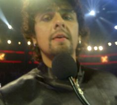June 2011-  on set of X-Factor