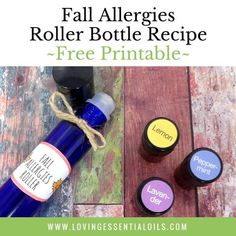 Seasonal changes got you sniffling and sneezing? Find all natural relief in this simple essential...