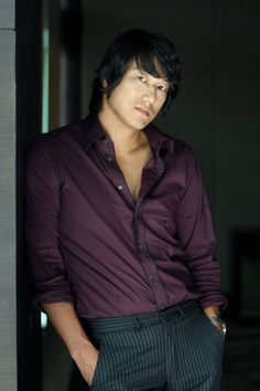 Sung Kang .... everytime i watch fast and furious the more i fall in love with his hair