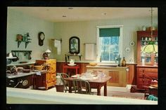 New Jersey NJ Vintage postcard Millville, Wheaton Museum of Glass interior