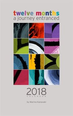 Calendars: A Journey Entranced 2018 year planner Year Planner, 2018 Year, Month Colors, Gifts For An Artist, Astrology Signs, Entrance, Calendar, Journey