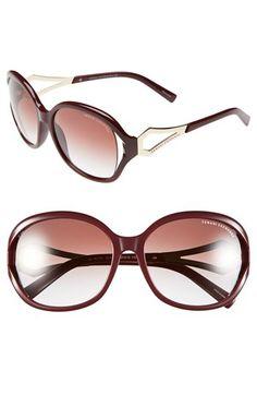 AX Armani Exchange 57mm Sunglasses