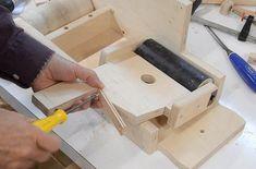 Belt sander build: Redoing the adjustments