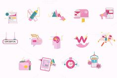 Icons for web design  @creativework247