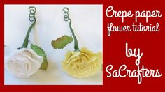 DIY:How to:Crepe paper flowers tutorial by SaCrafters