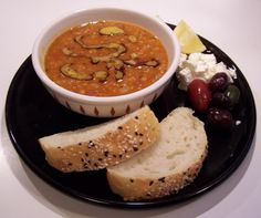 Good Food and More: Dr. Fuhrman's Red Lentil Chili Soup