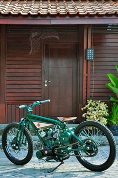 green machine, cool Honda custom