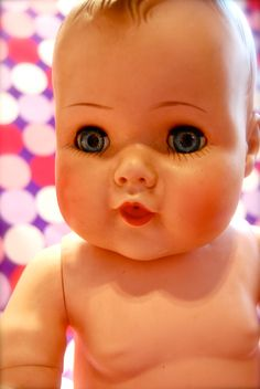 ... American Character Vintage Toodles Baby Doll. zoom