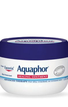 Aquaphor healing ointment--a pharmacist's favorite for all kinds of dry skin. Is an ointment so can be a little oily in comparison to a lotion or cream. Good on lips, elbows, heals. Good for sensitive skin. Skin Care Regimen, Skin Care Tips, Dry Skin On Feet, Skin Care Routine For 20s, Cracked Skin, Cracked Feet, Perfume, Coconut Oil For Skin, Prevent Wrinkles