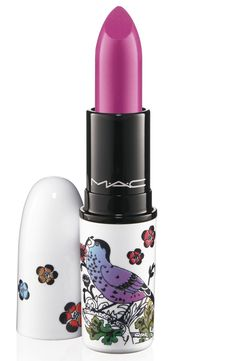 MAC Give Me Liberty Lipstick in Petals & Peacocks #lip #makeup