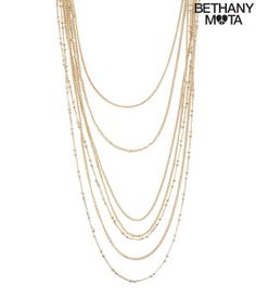 Layered Long-Strand Necklace