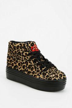 1511fa73c0c22 Cute To The Core Monster Leopard High-Top Flatform-Sneaker