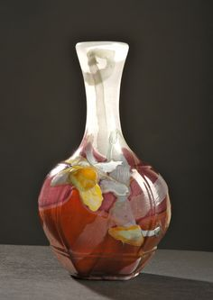 Émile Gallé | Marqueterie Vase. Art Nouveau Movement -