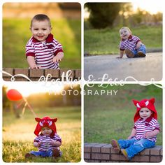 Lil Razorback , 1 yr old photo shoot