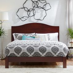 Found it at Wayfair - Apollo Camelback Wood Headboard Wood Headboard, Panel Headboard, Headboard Ideas, Colonial, California King Headboard, Contemporary Headboards, Wood Beds, Do It Yourself Home, Bed Furniture