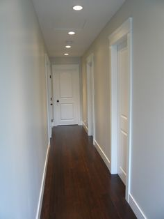 Updated hardwood flooring, doors, casings, and base-boards by Northern Concepts