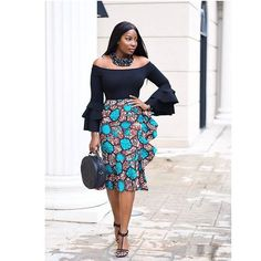 A collection of the best and Latest Casual African Ankara Styles. These casual ankara styles and casual ankara designs were specifically selected for your taste of casual ankara styles African Fashion Ankara, Latest African Fashion Dresses, African Print Fashion, Africa Fashion, African Wear, African Attire, African Dress, Fashion Prints, African Prints