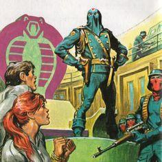 Joe Cobra Commander ala' a pulp cover Cartoon Clip, Cartoon Toys, Thundercats, Comic Books Art, Comic Art, Black And White Comics, Cobra Commander, Storm Shadow, Gi Joe Cobra