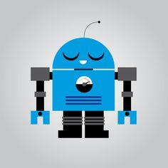 Robots by Marco Recuero, via Behance