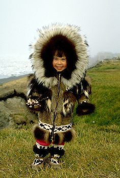 Little Eskimo Girl [Alaska in Pictures]