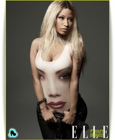 Nicki Minaj continues to make strides in the style department with a cover on Elle Magazine upcoming issue. After axing her entire style team, Nicki Minaj Elle Magazine, Magazine Covers, Britney Spears, Nicki Minaj Pictures, Nicki Manaj, American Idol Judges, Trinidad Y Tobago, Hip Hop, Interview