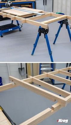 Mobile Project, Kreg Tools, Woodworking Tips, Cabinet Doors, Knock Knock, Grid, How To Plan, Storage, Projects
